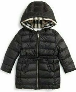 Burberry 'Catherine' Bow Detail Down Puffer Jacket